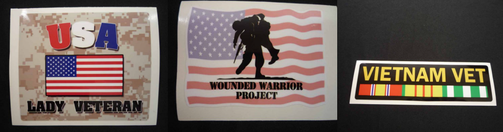 Wounded Warrior Project Decal Sticker For Sale